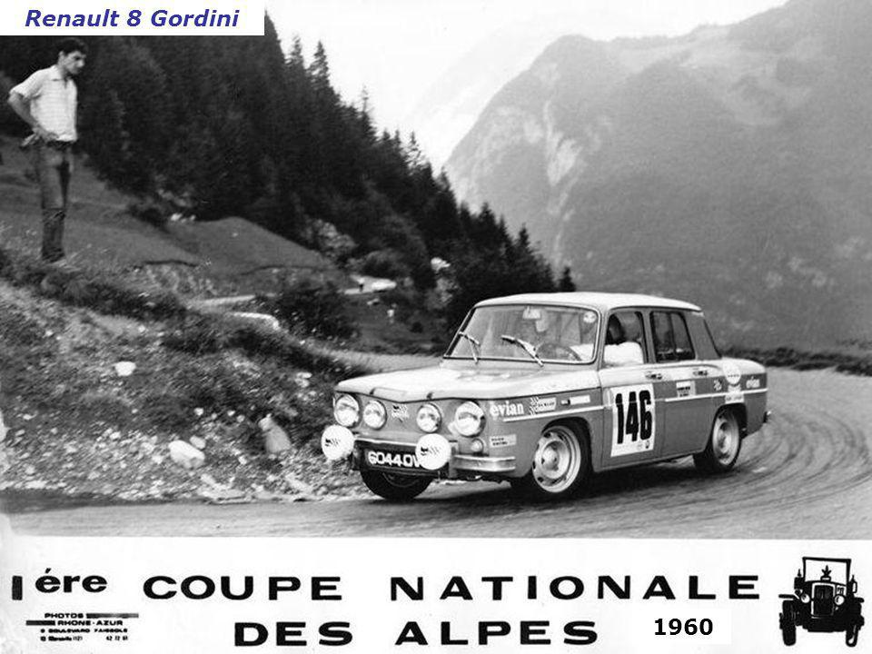 Grand Prix de Spa 1960 Peugeot 203Morris Mini Minor