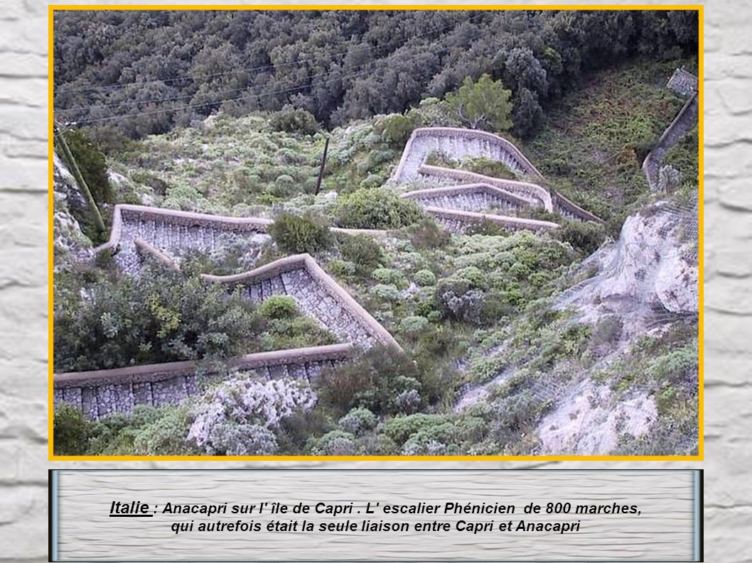 Pérou : ou gravir la centaine de marchesbien usées et irrégulières du Mont Wayna Picchu.Un vrai danger !!!