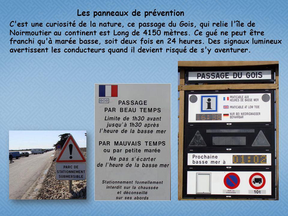 La route submersible du Gois de Noirmoutier