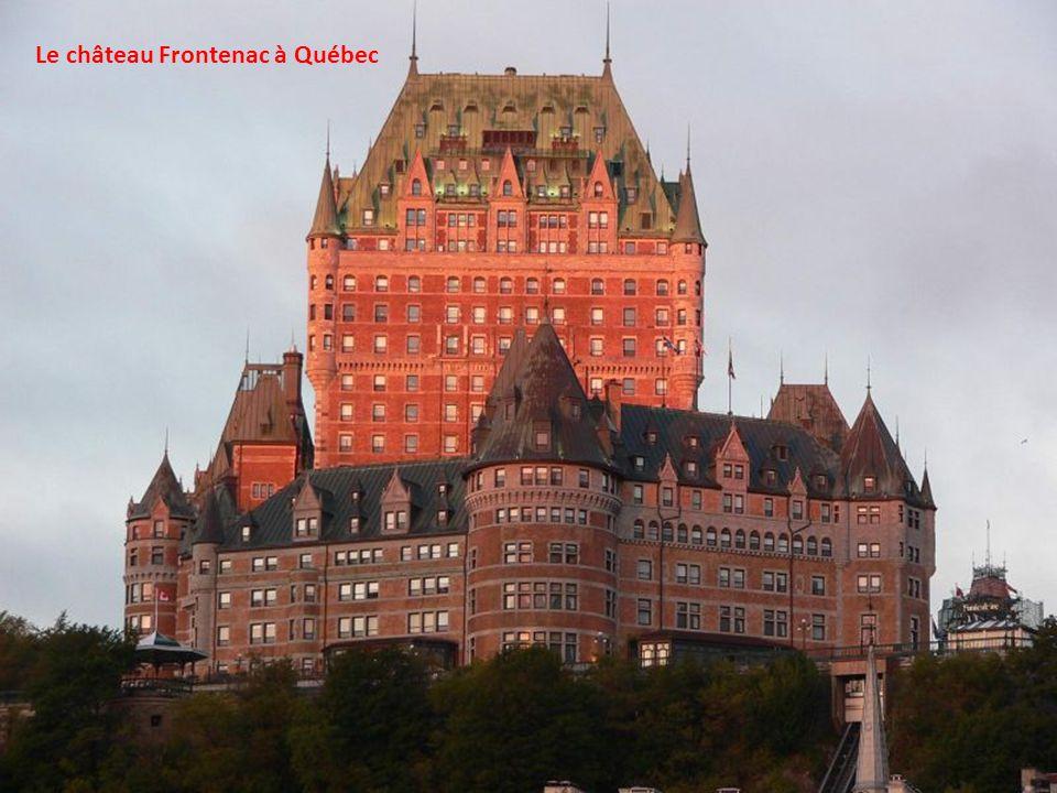 Ville de Québec, la capitale de la province de Québec