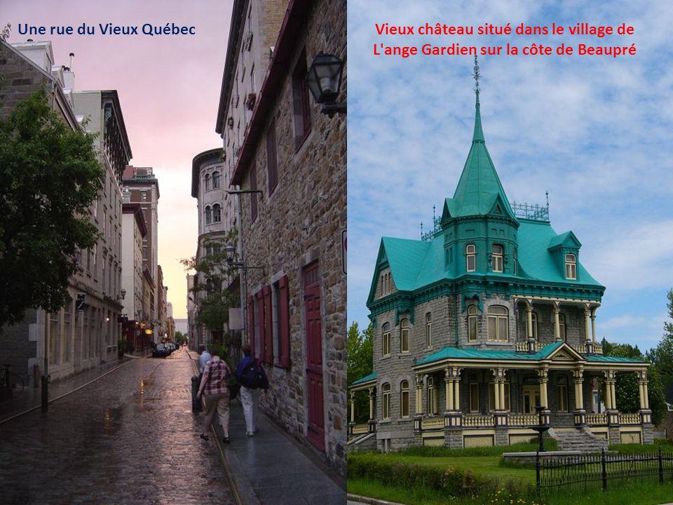 Le fleuve St-Laurent et les 2 ponts de Québec