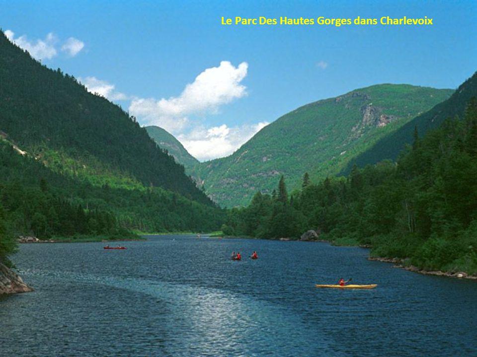 Les paysages grandiose de Charlevoix