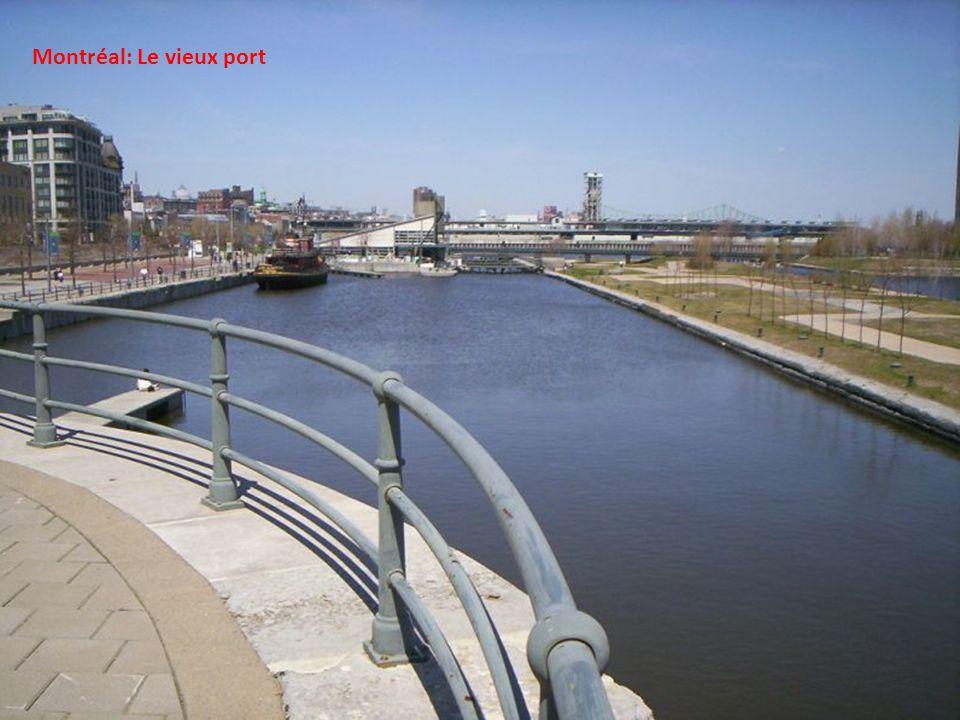 Montréal: Le canal Lachine
