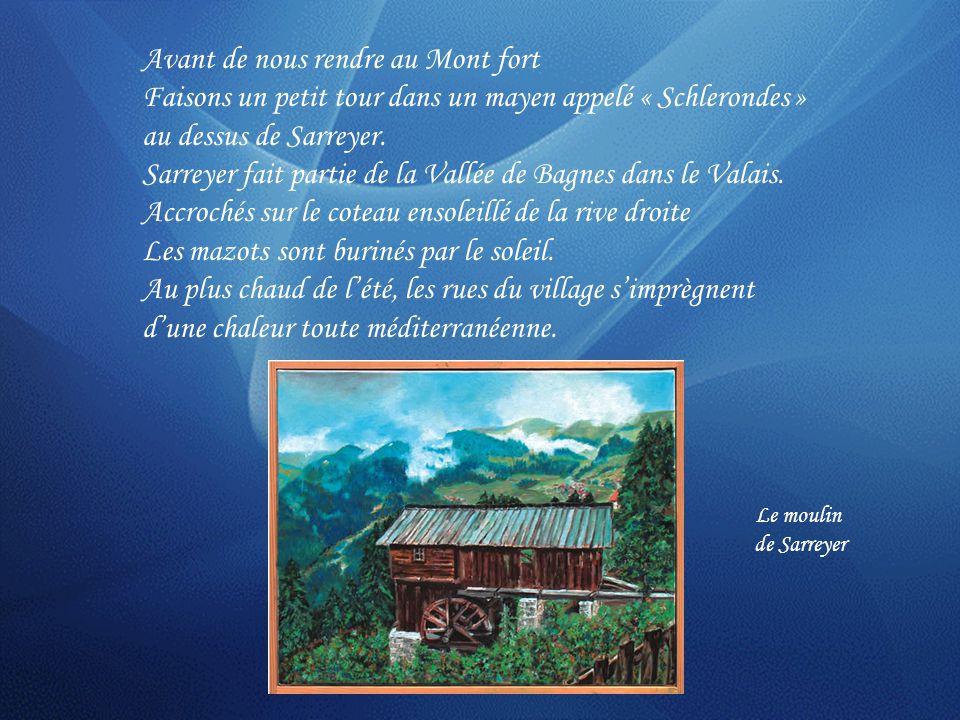 Le Bec des Rosses Les Grandes Jorasses Le Mont BlancAiguille dArgentière Aiguille du Chardonnet Le Plateau du Trient