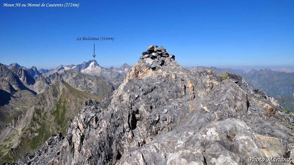 ....... Le Casque du Marboré (3006m)