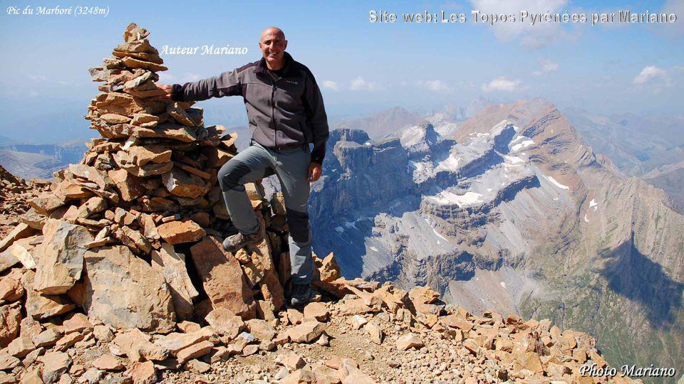 ....... Maintenant vous connaissez lutilité des cairns en montagne. La Pique Longue (3298m)