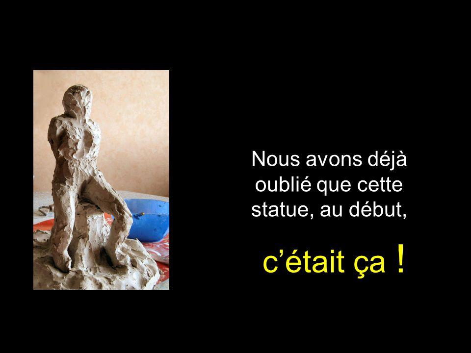 Le tronc darbre...et le corps de la mère se sont amincis © Charlie