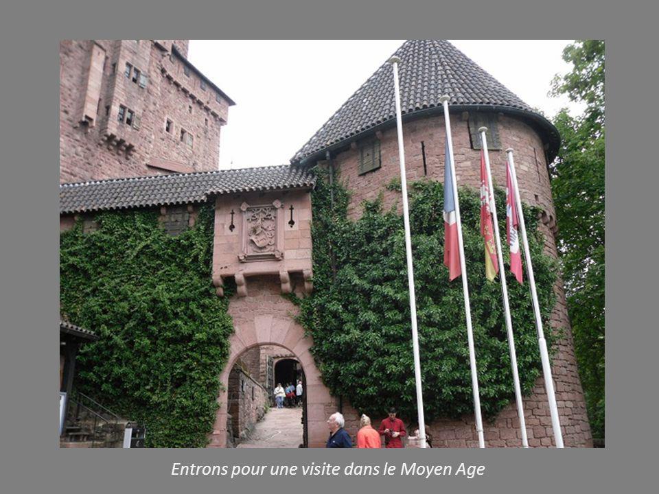 LE HAUT KOENIGSBOURG Château d exception. à 800m d altitude en Alsace dans un panorama grandiose Proposé par Jackdidier Clichés personnels de ma visit