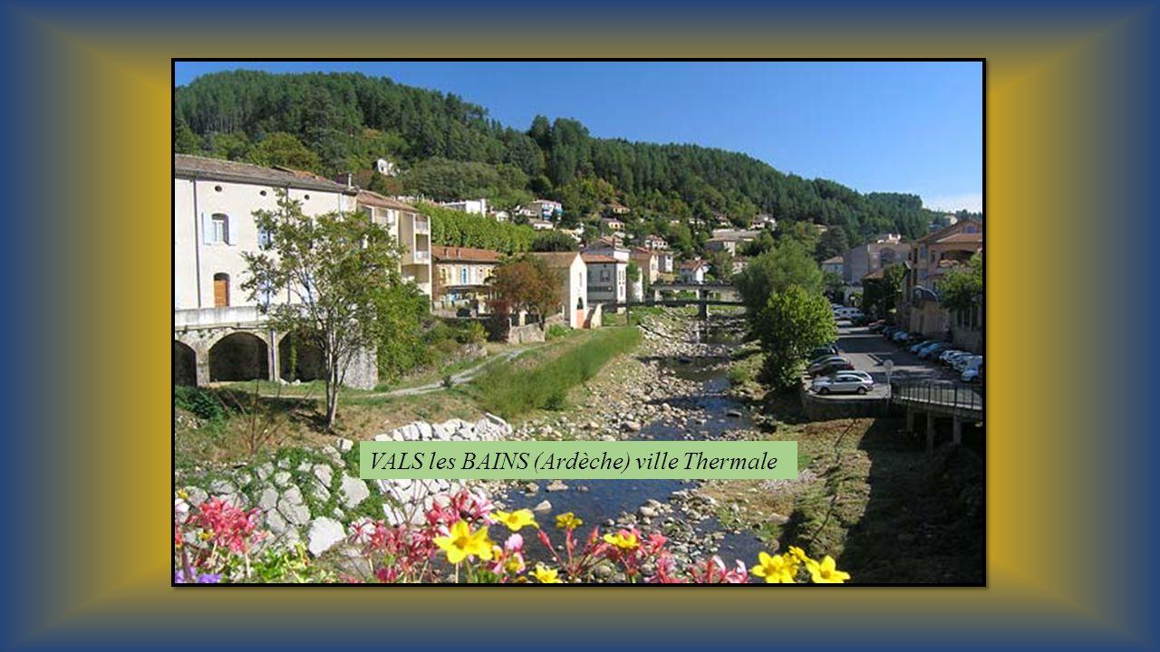 LES PLUS BEAUX DETOURS DE FRANCE SUD – EST Vals les Bains - Le Puy en Velay – Crest – lArgentière la Bessée - Saint Jean de Maurienne Proposé par Jack