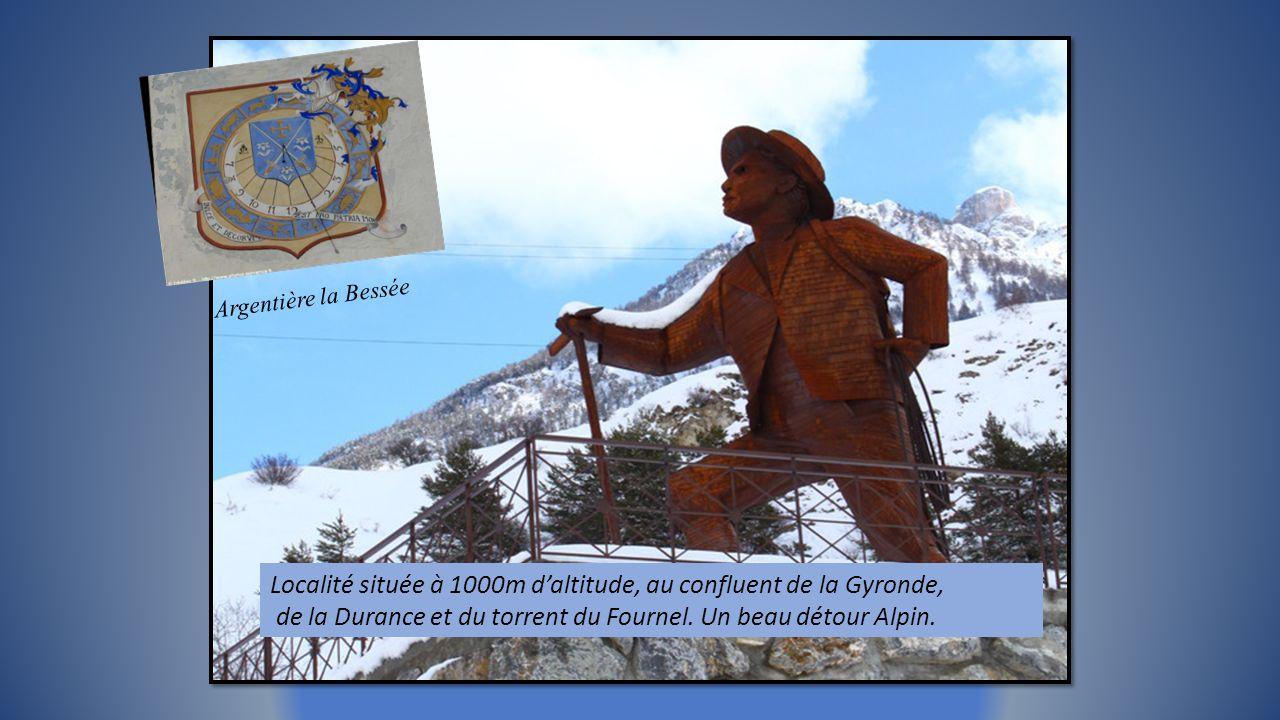 Cascade de glace, escalade, via ferrata, kayak et Canyoning dans la vallée et son champ de Chardons Bleus (Reine des Alpes) Vallon du Fournel