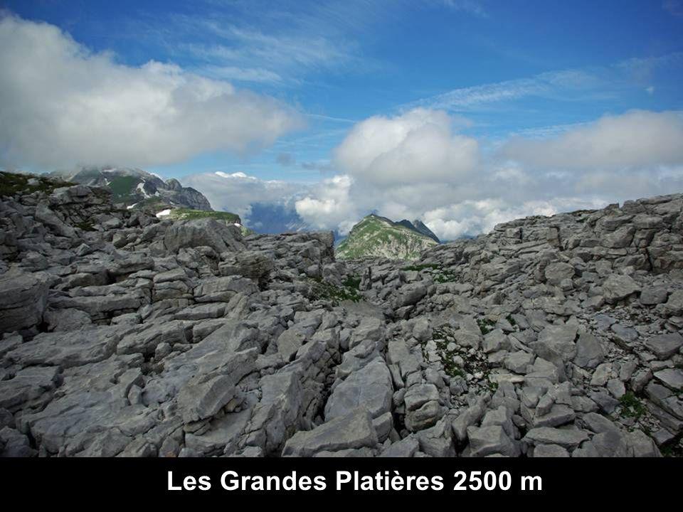 Les Grandes Platières 2500 m