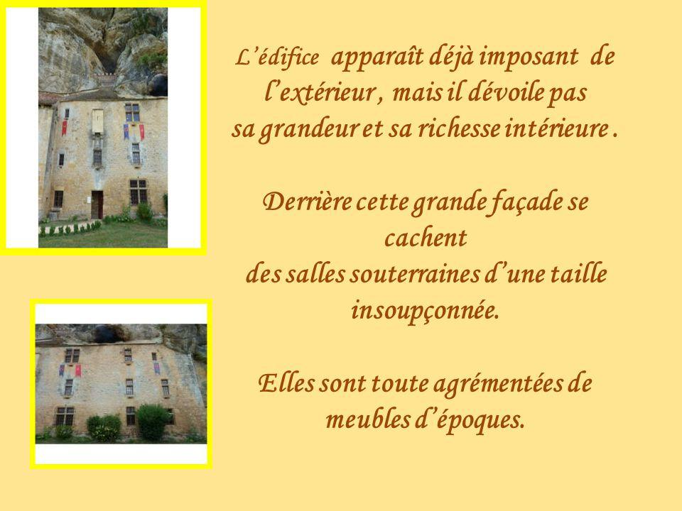 Logements des seigneurs du Château Falaise à Tursac
