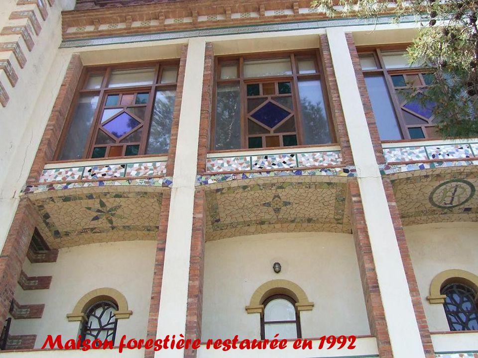 Maison forestière restaurée en 1992