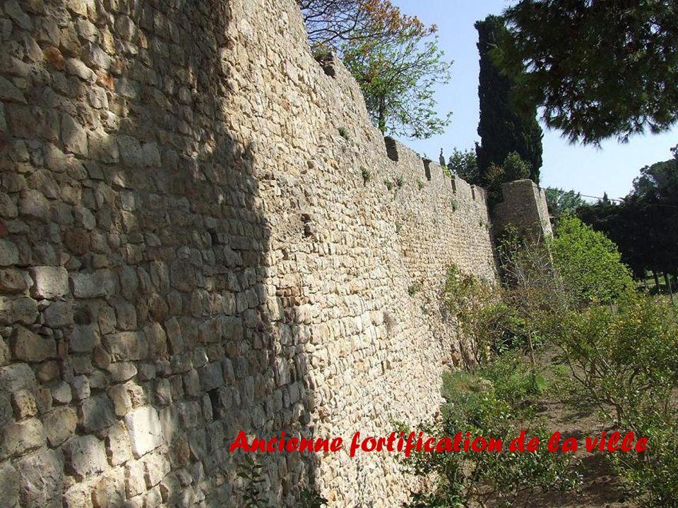 Ancienne fortification de la ville
