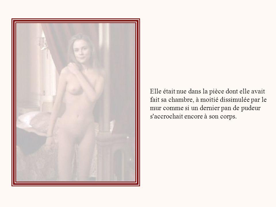 Elle me fixait de ses yeux sombres, souriante, appuyée au chambranle de la porte, subitement déshabillée, incertaine.