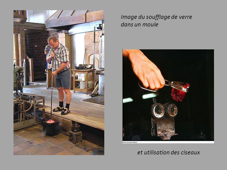 Divers outils sont utilisés :. La canne tube en fer creux et manche en bois.