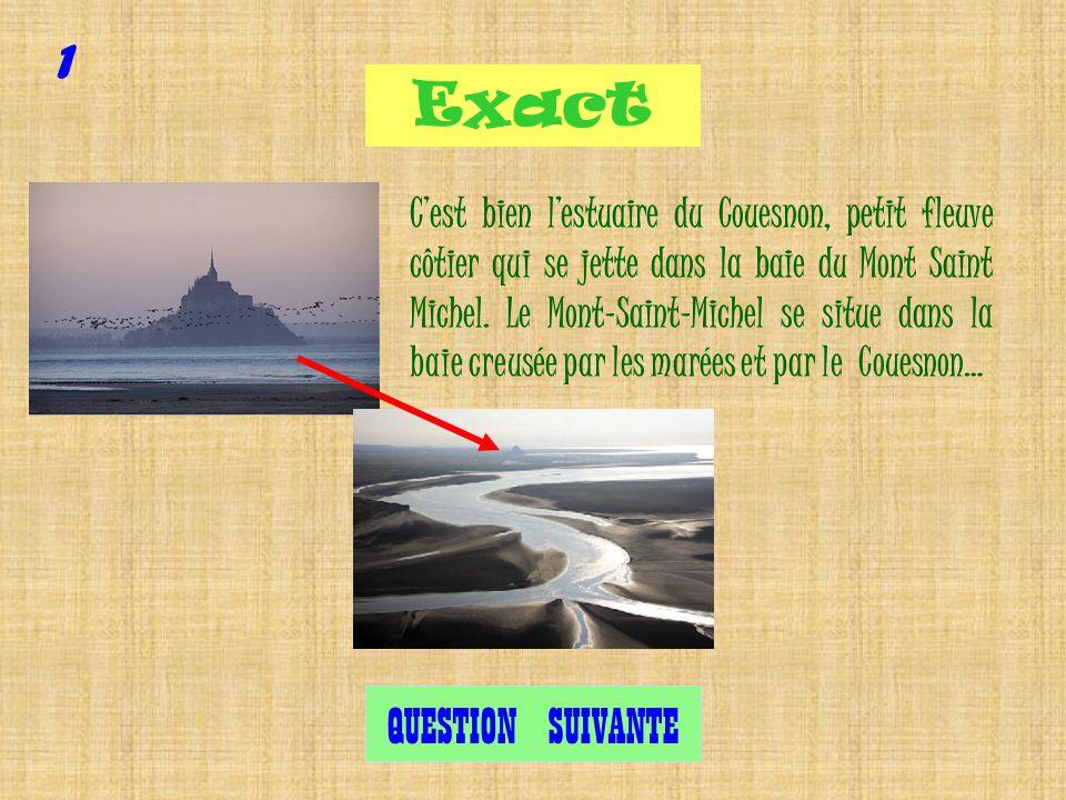 Question 1 Où est lestuaire du Couesnon ?