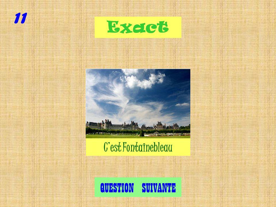 Fontainebleau Versailles Cambo Les Bains (Pays Basque) Question 11