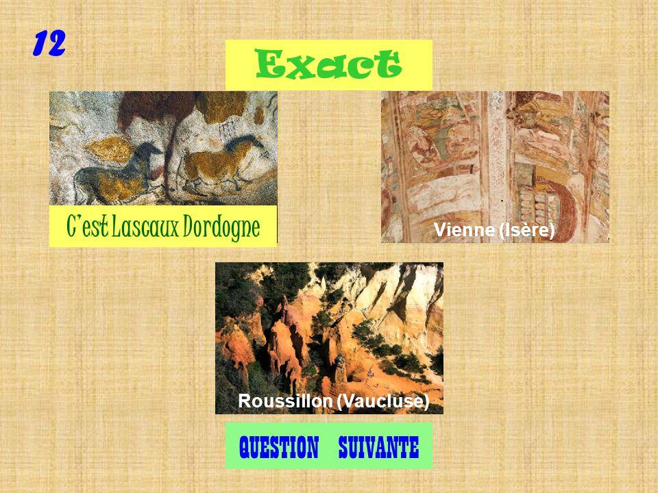 Question 12 Où est Lascaux ?