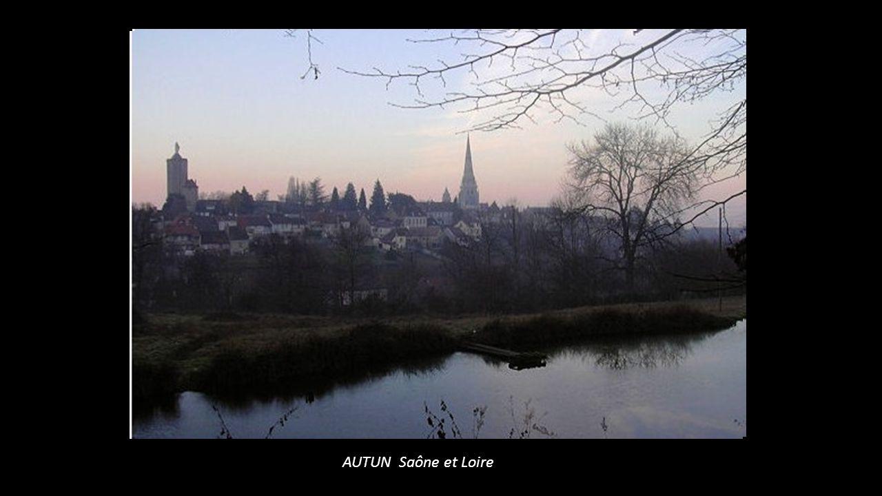 AUTUN Saône et Loire