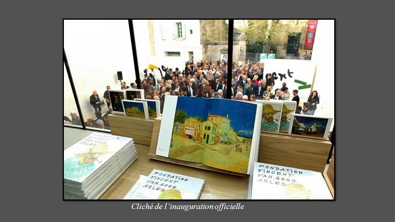 ARLES honore lartiste À travers la fondation inaugurée le 5 Avril 2014 Exposition titrée : Couleurs du Nord Couleurs du Sud. VAN GOGH LIVE Portail sig