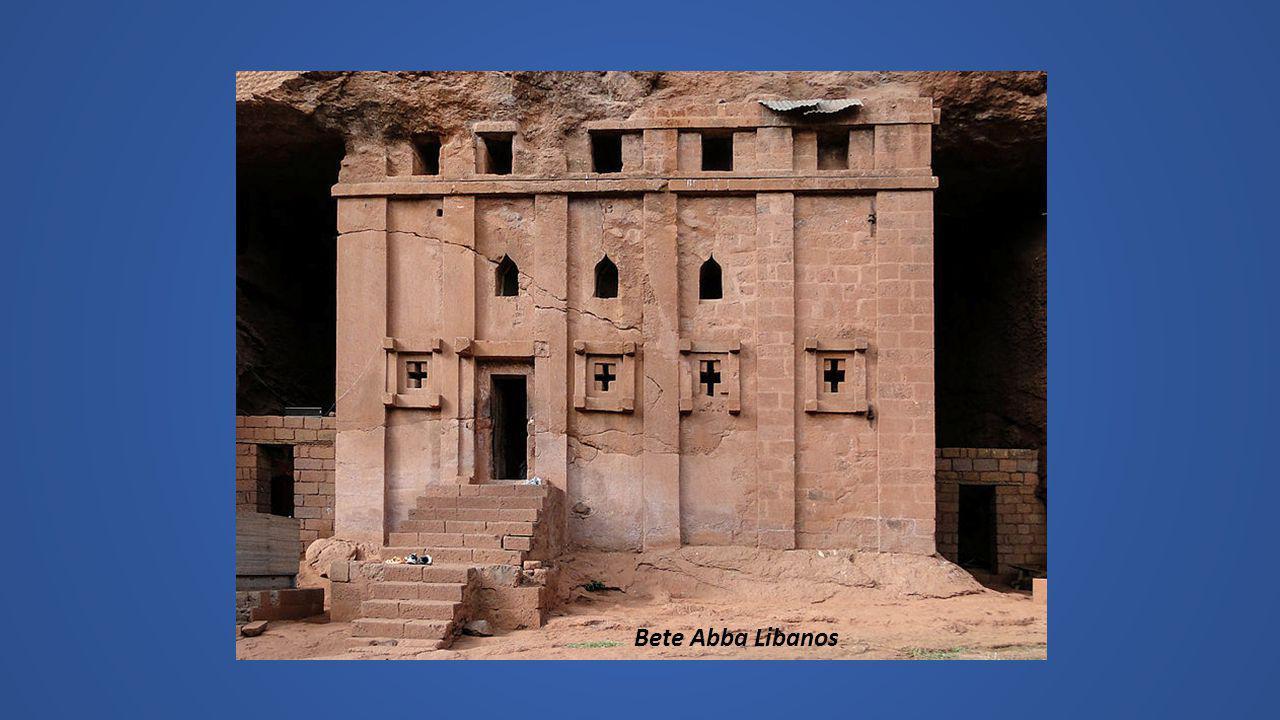 La Tombe d Adam Edifice avec façade de 2m50 et hauteur de 9m LALIBELA Onze églises monolithes médiévales taillées et, creusées à même le roc dans le t