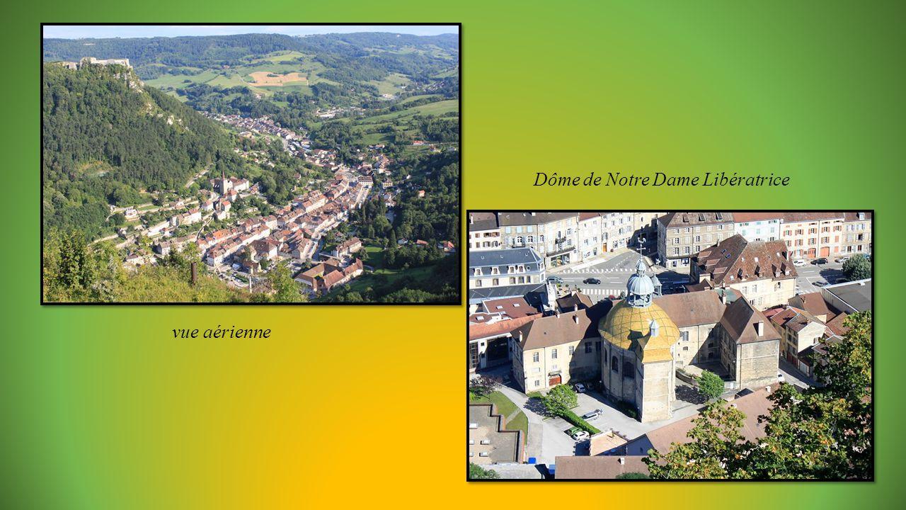 vue aérienne Dôme de Notre Dame Libératrice