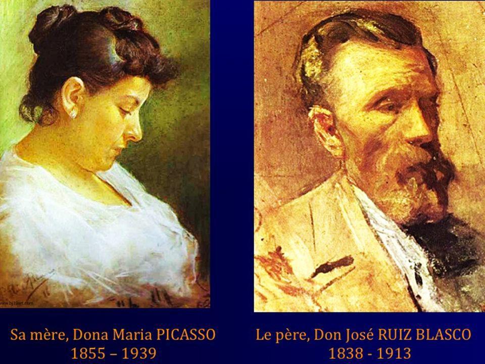 La première femme, pour Picasso comme pour -presque -tous les hommes, ce fut sa mère. Aimable et souriante, elle avait, disait-il, toutes les qualités