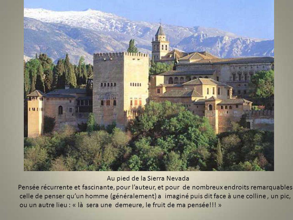 Les jardin du Generalife Château de Charles Quint 7 palais, cours et jardins imbriqués