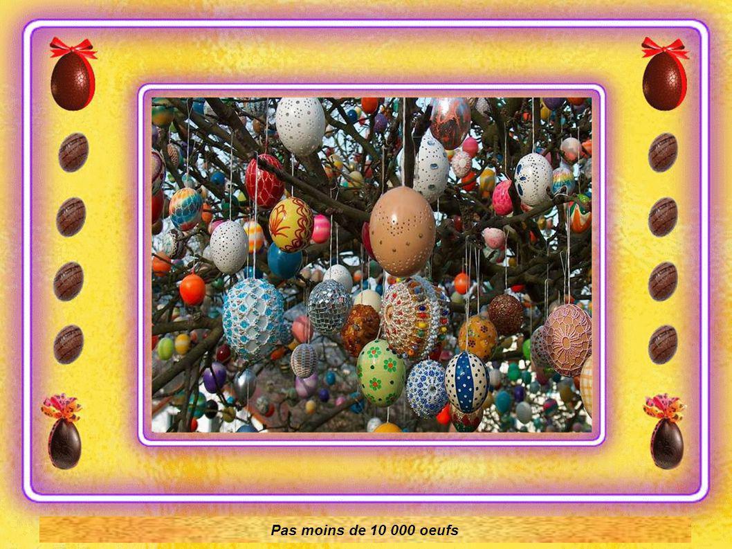 La pose des œufs commence. Environ sur 4 semaines avant Pâques, suivant la météo