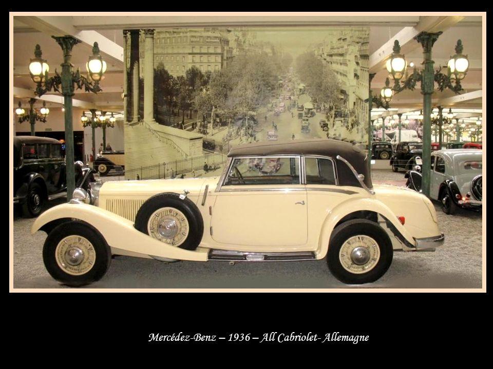 Alpha Roméo – 1933-1936 - Italie