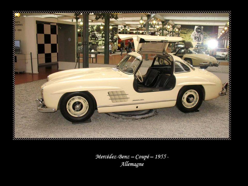 Mercédez-Benz – Cabriolet 300S – 1955 - Allemagne