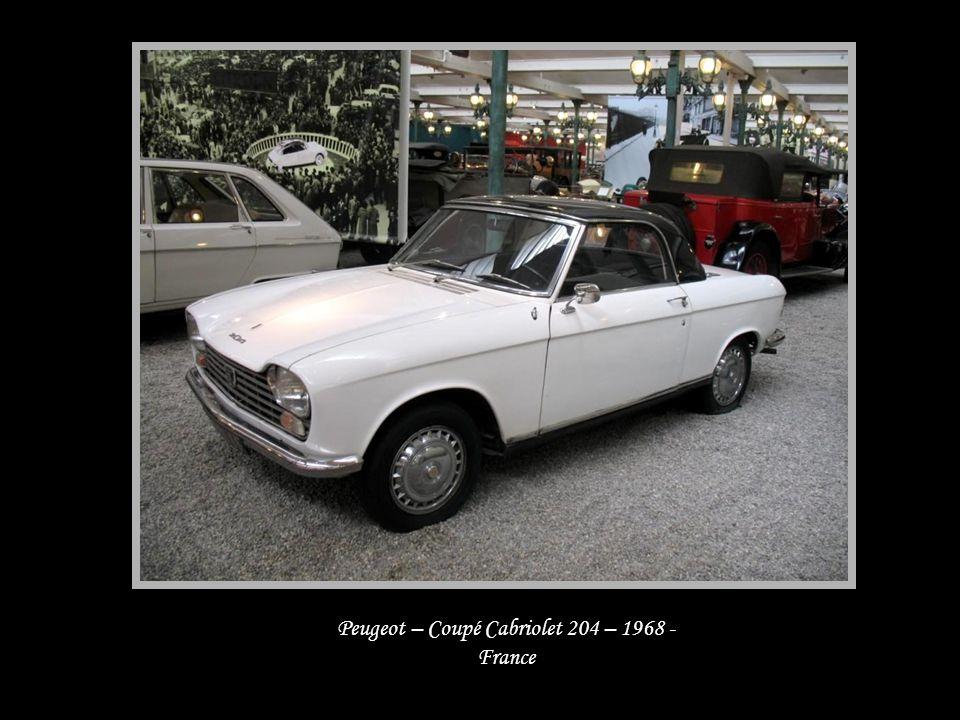 Citroën – Coupé 5M – 1971 - France