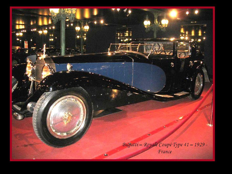 Bugatti – Coach type 55 – 1934 - France