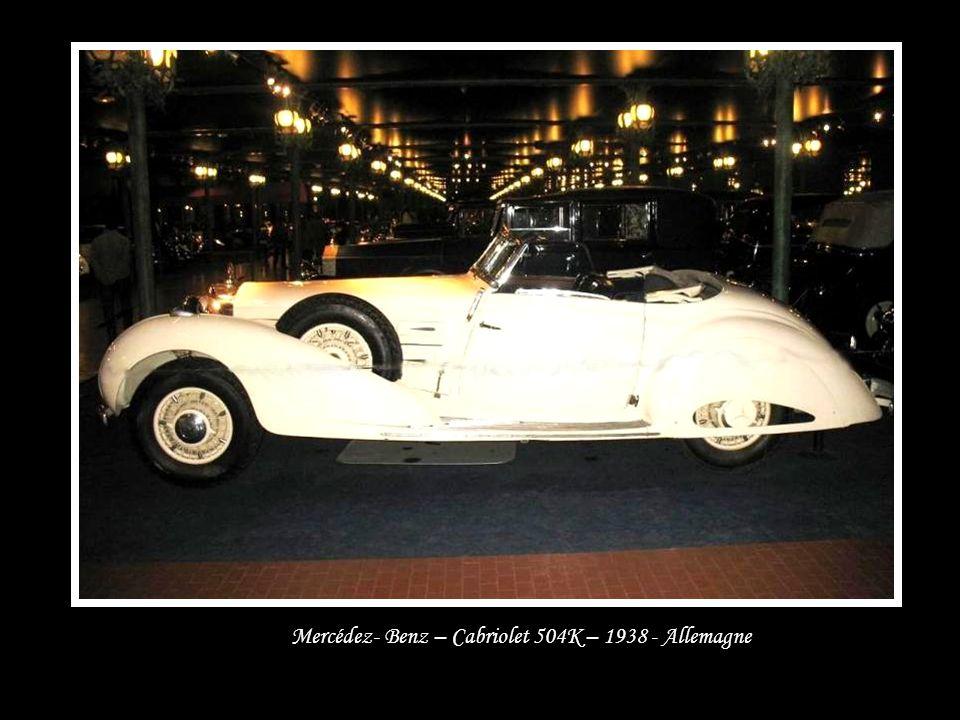 Bugatti – Coach type 57 – 1936 - France