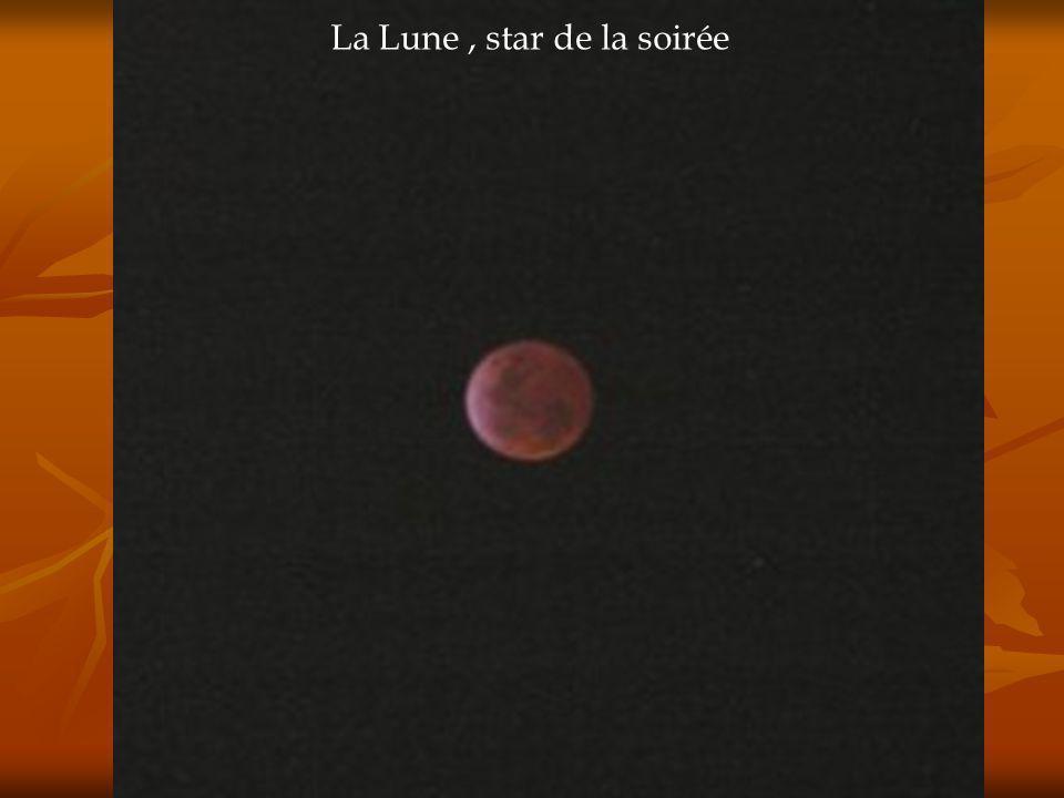 La Lune, star de la soirée