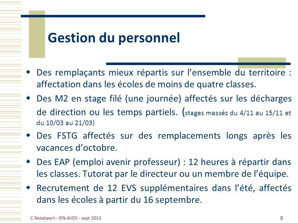 Gestion du personnel Un maître surnuméraire dans le RRS pour prévenir et remédier à la difficulté scolaire (dispositif « Plus de maîtres que de classes »).