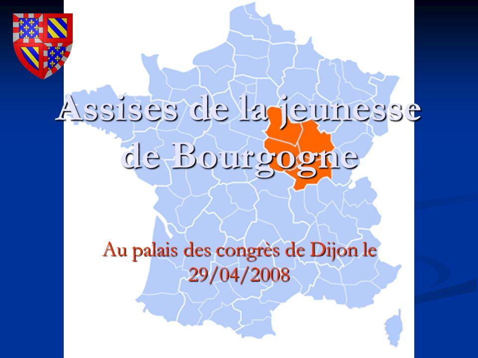 Assises de la jeunesse de Bourgogne Au palais des congrès de Dijon le 29/04/2008