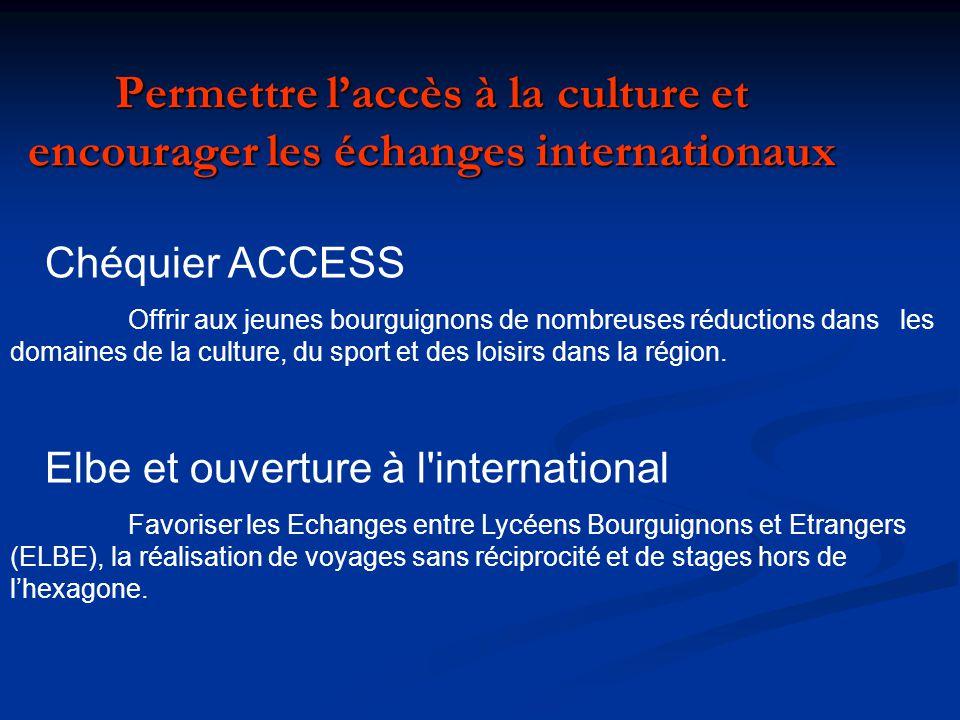 Soutenir les actions pédagogiques en faveur des lycéens grâce au rectorat de lacadémie de Dijon.