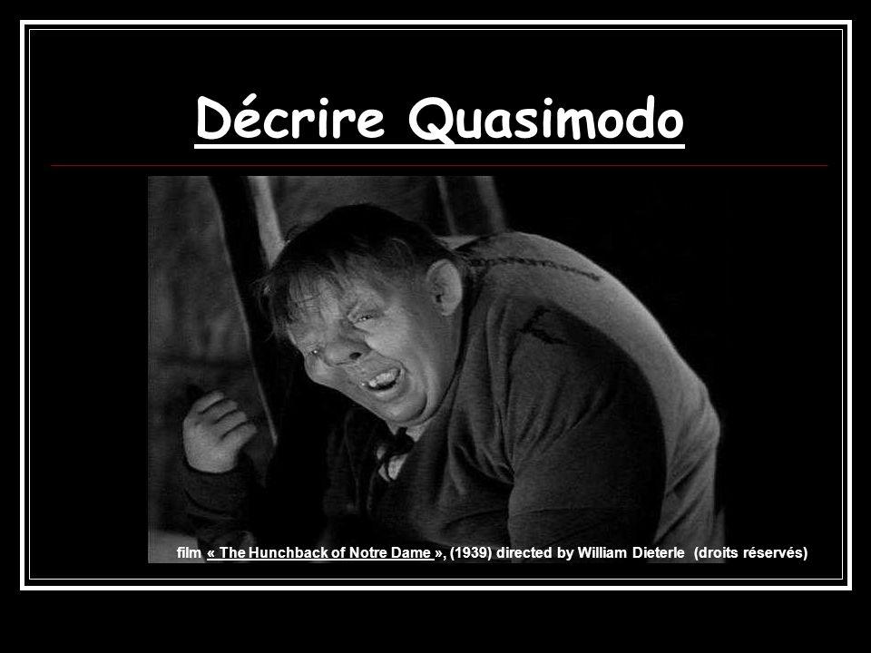 Décrire Quasimodo film « The Hunchback of Notre Dame », (1939) directed by William Dieterle (droits réservés)