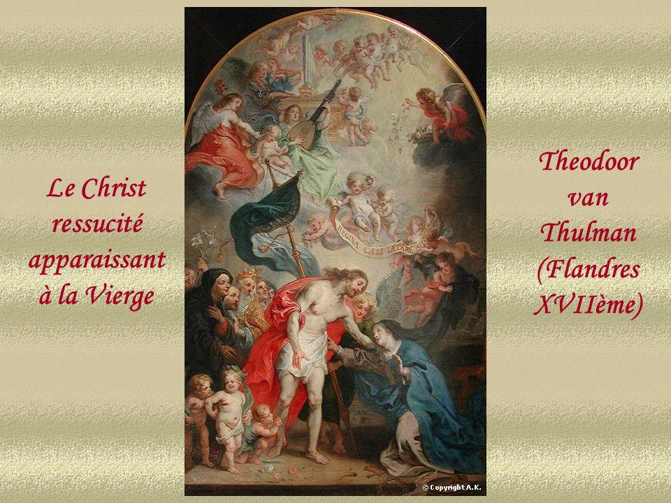 La résurrection du Christ Flandres XVIIme