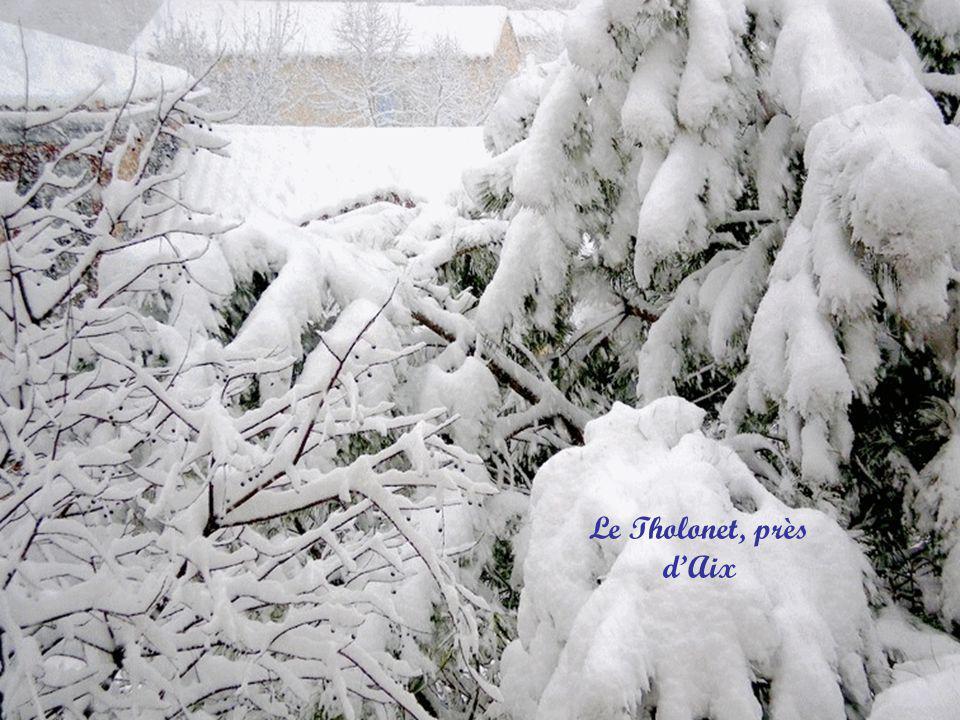 Auberge Neuve, Noël blanc un peu en retard