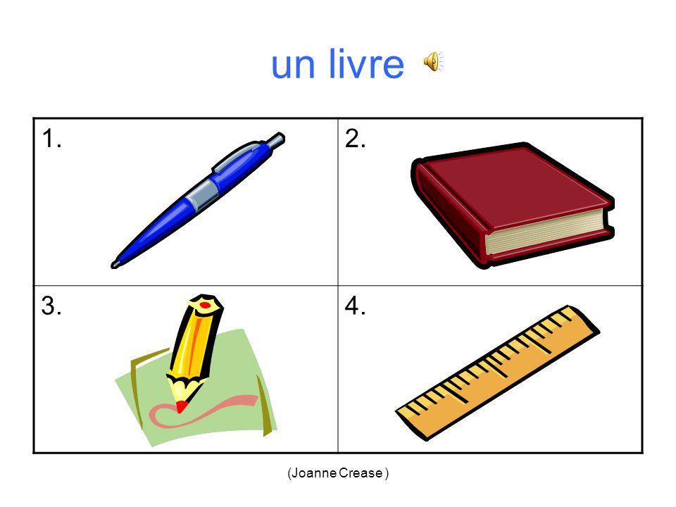 (Joanne Crease ) un stylo = 3