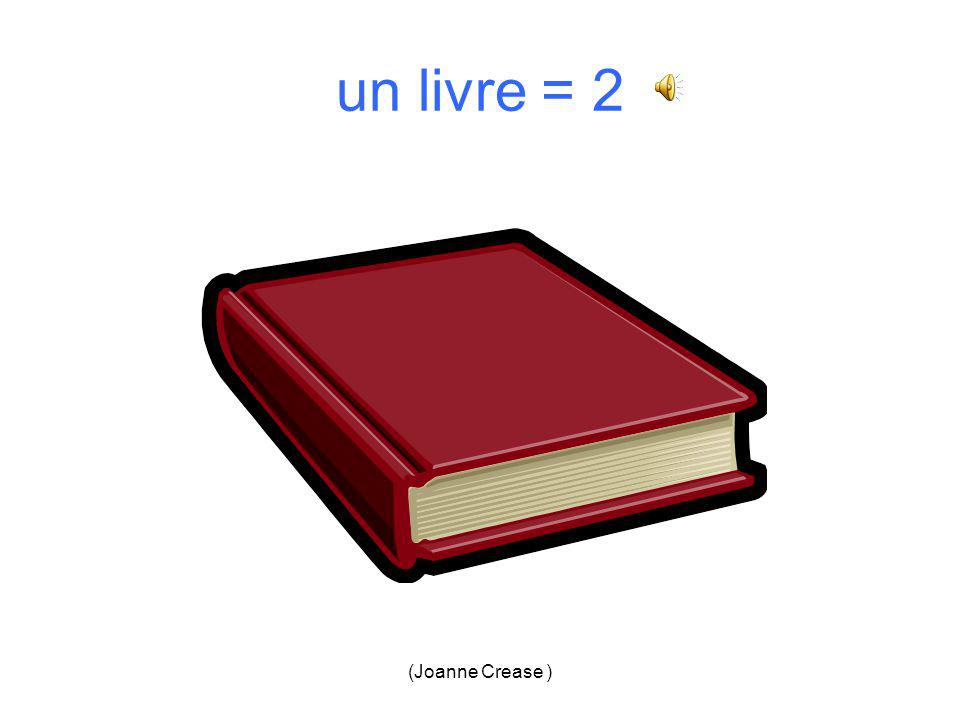 (Joanne Crease ) un livre 1.2. 3.4.