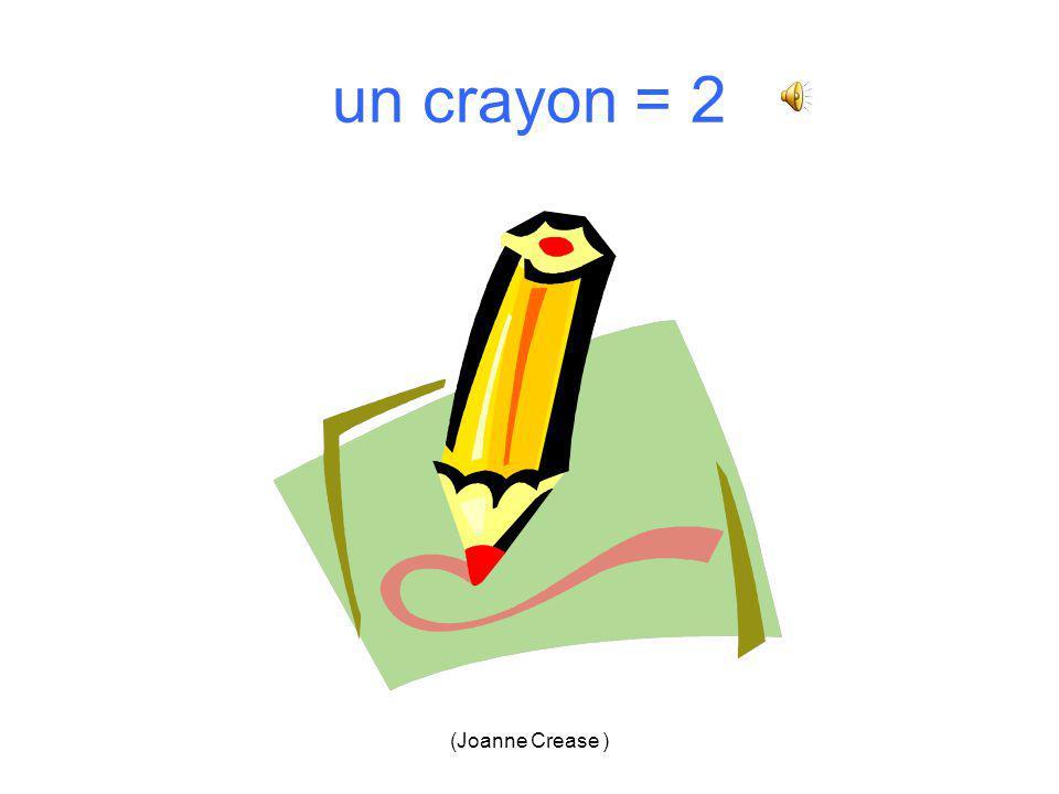 (Joanne Crease ) un crayon 1.2. 3.4.