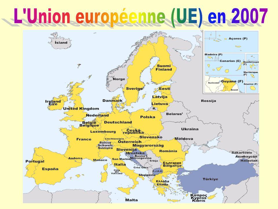 L'Union européenne (UE) en 2007