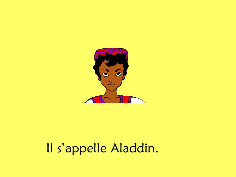Aladdin habite avec sa mère. Il na pas de père.