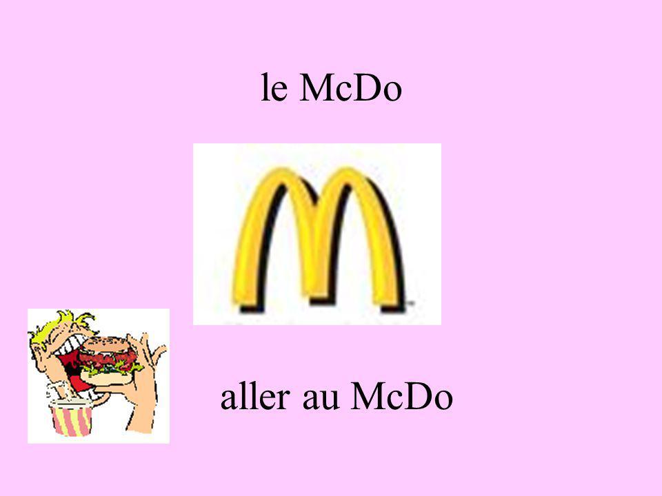 le McDo aller au McDo