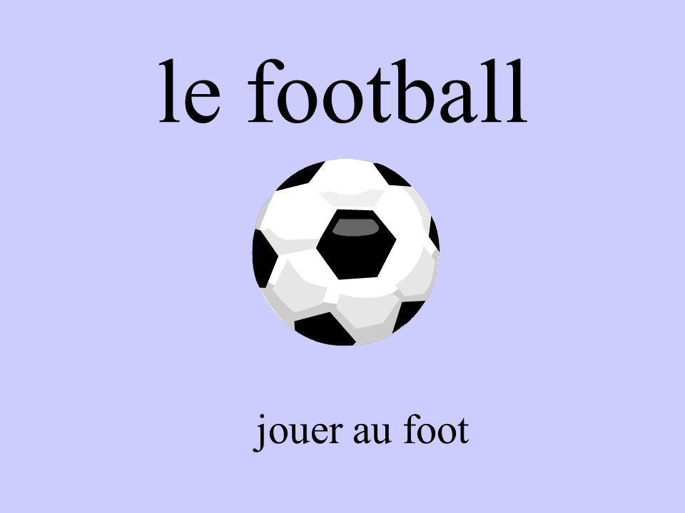 le football jouer au foot