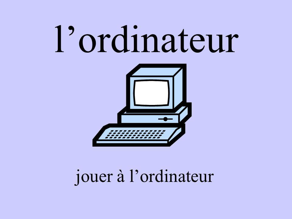 lordinateur jouer à lordinateur